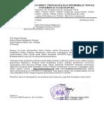 01_Surat Pengantar Rektor Ke Bupati