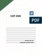 UserManualCDP2500