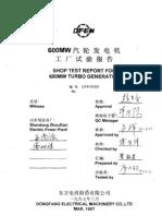 Generator Type Test Report