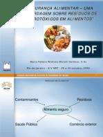 analise de agrotoxicos