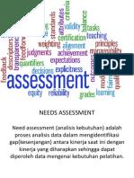 need assesment