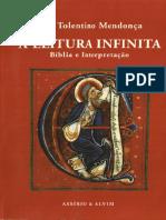 Jose Tolentino, A Leitura Infinita Biblia e Interpretacao