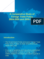 Comparison between Foreign Trade Policy 2004-2009 and 2009-2014