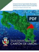 Plan de Desarrollo Humano Local Cantón Limón