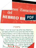 Yates, Kyle - Nociones Esenciales Del Hebreo Bíblico / upload Eduardo Algeciras