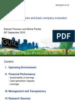 Basic Company Evaluation