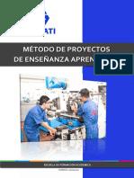 MANUAL MÉTODO DE PROYECTOS DE E-A INDUCCIÓN