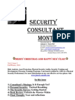 Security Consultant Monthly Fall Winter 2010