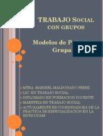 Modelos de Intervencion Con Grupos