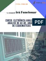 Curso_ Eletrônica Analógica, Analise de AC-DC, ANALISE de ESQUEMÁTICOS