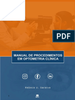 Manual de procedimentos em OPTOMETRIA CLINICA