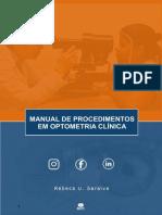 Manual de procedimentos em OPTOMETRIA CLINICA