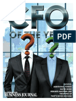 Indianapolis Business Journal CFO of the Year issue cover draft