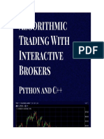 Matthew Scarpino - Algorithmic Trading with Interactive Brokers (Python and C++). 418-Quiller Technologies LLC (2019)