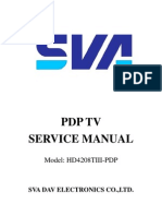 Sva Pdp Tv Service Manual