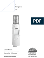 User Manual Water Dispenser