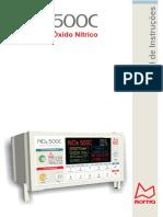 Manual de Instruções. Monitor de Óxido Nítrico