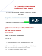 Test Bank for Economics Principles and Policy 12th Edition William Baumol.docx