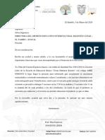 OFICIO COLACION ESCOLAR ESCUELA CESAR MARTINEZ BORRERO