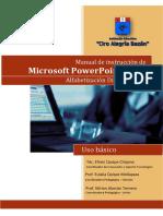 Manual de Instrucción PowerPoint 2013
