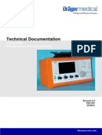 Draeger, Drager, Dräger Oxylog 3000 - Service manuals