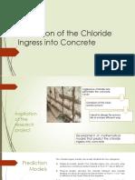 Prediction of the Chloride Ingress into Concrete.pptx