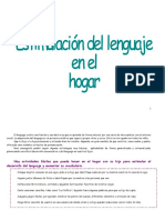 Estimular lenguaje hogar