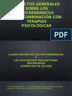 Aspectos generales sobre los psicofármacos