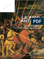 De Vita Armi antiche - Bibliografia