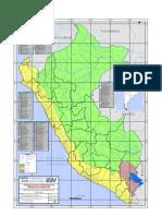 Mapa de Cuencas Hidrograficas Del Peru