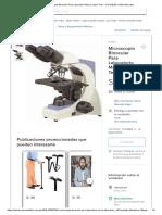 Microscopio Binocular Para Labo