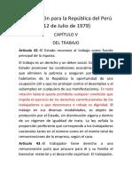 Constitución para la República del Perú