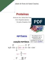 Aula 3 - proteínas
