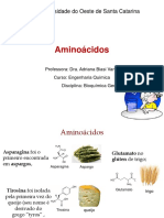 Aula 2 -aminoácidos