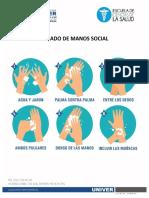 LAVADO DE MANOS SOCIAL