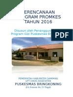 PERENCANAAN DAN RUK PKM 2016