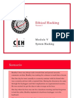 CEH v5 Module 05 System Hacking