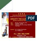 VSRA Invitation, 20th December, 2010