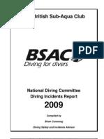 BSAC Diving Incident Report 2009(1)