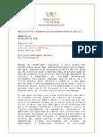 Replica de Flora Sussekind aos necrologios publicada no Prosa Online em 24.04