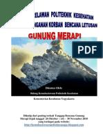 Kegiatan Relawan Politeknik Kesehatan Dalam Penanganan Korban Bencana Letusan Gunung Merapi