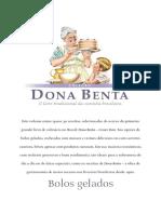 Dona Benta - Bolos Gelados