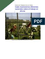 IMÁGENES DE TRABAJO EN ALTURAS