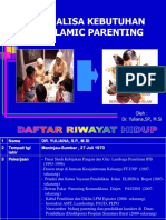 Analisa Kebutuhan Islamic Parenting 27062015