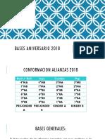 BASES ANIVERSARIO 2018