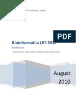 BioInfo Lab Manual