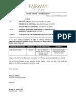 IOM-2019-03-007 Letter re MRF for Security