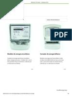 Medidores de energía – Catalogo proelco