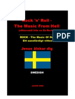 Rock 'n' Roll - The Music From Hell (vittnesmål från en Ex-Rocker) _ ROCK - The Music Of Hell Ett sannfärdigt vittne Jesus älskar dig