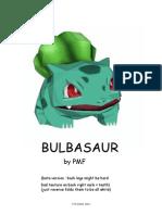 bulbasaur dibujo